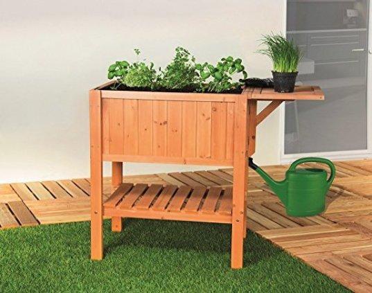 hochbeet auf dem balkon. Black Bedroom Furniture Sets. Home Design Ideas