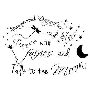 (LARGE) May You Touch Dragonflies and Stars Dance with