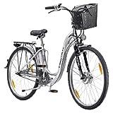 Designer Elektrofahrrad PROPHETE ALU REX E-Bike 26er (66cm) Pedelec Elektro Fahrrad 24 Volt 7-Gang Nabenschaltung, 2 Jahre Heim-Service