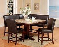 Amazon.com - Roundhill Furniture 6-Piece Counter Height ...