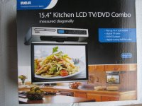 """RCA Kitchen LCD TV/DVD Combo - 15.4"""" Under-Cabinet   Best ..."""