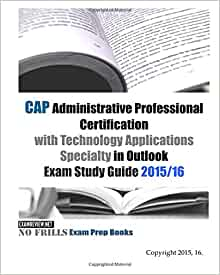 CAP Administrative Professional Certification with