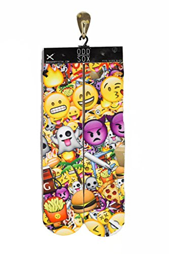 Odd Sox Men's Emoji 3D Socks Multicolor
