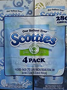 Amazoncom Scotties 2Ply White unscented Facial Tissue