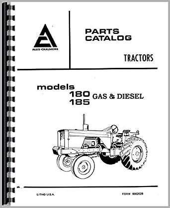 Allis Chalmers 180 Tractor Parts Manual: Amazon.com
