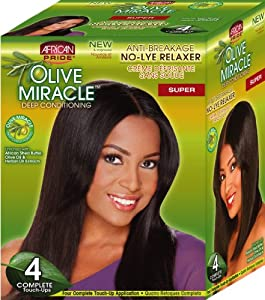 Amazoncom African Pride Olive Miracle Deep Conditioning