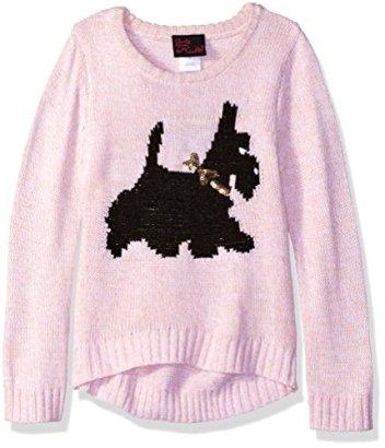 Girls-Rule-Little-Girls-Scottie-Dog-Sweater-Blush-6