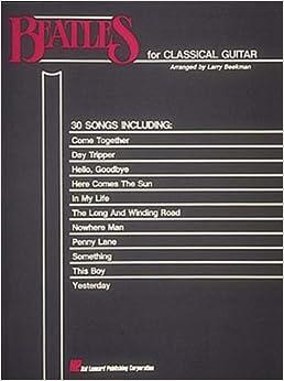 Solo Guitar Music | The Guitar Studio of Larry Beekman