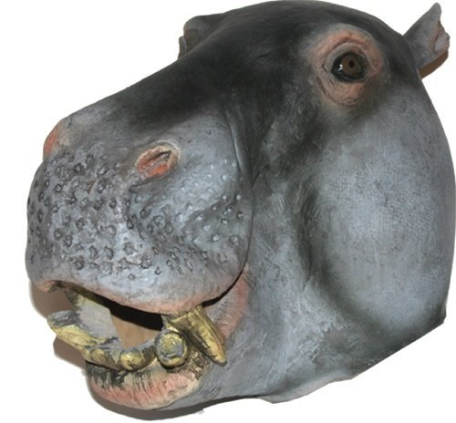 Hippo Mask : Deluxe Latex Animal Mask