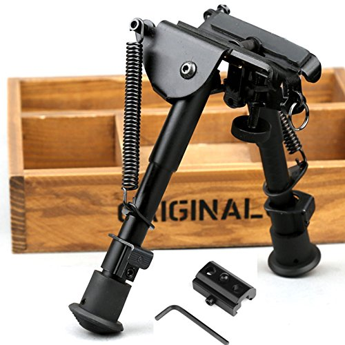 X Aegis 2 In 1 Rifle Bipod 6 To 9 Spring Return Sniper