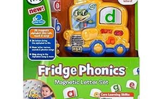 Amazon Leapfrog Fridge Phonics Magnetic Letter Set