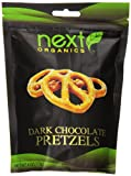 Next Organics Dark Chocolate Covered Pretzels, 4 Ounce