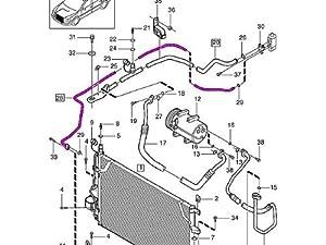 Amazon.com: Volvo s60 A/C Line Receiver Drier to