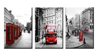 Modern Wall Art Painting Framed London Landscape Canvas ...