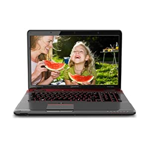 Toshiba Qosmio X775-Q7272 17.3-Inch Gaming Laptop (Fusion X2 Finish in Red Horizon)