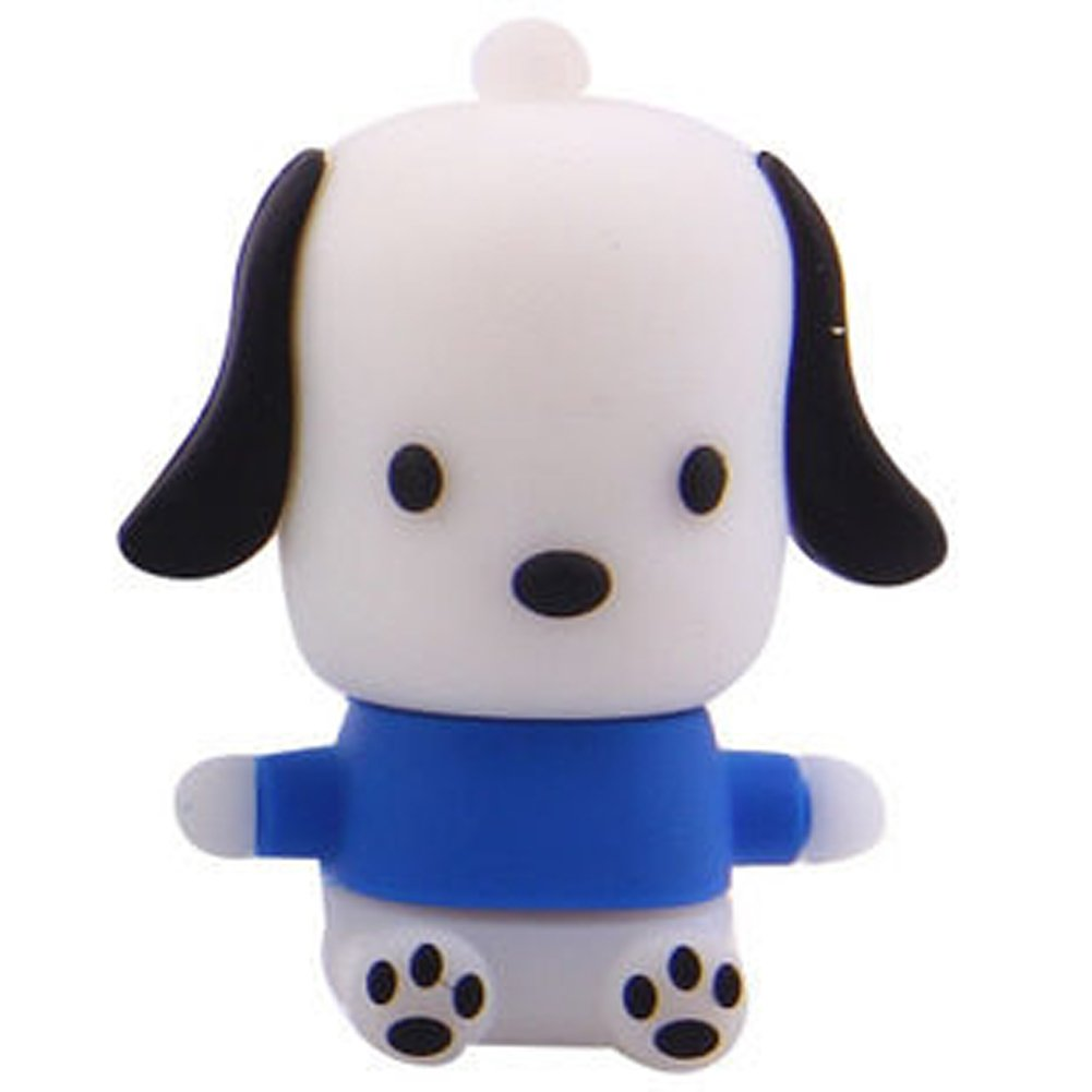 SUNWORLD Cute Cartoon Dog USB Flash Drive 16GB Best USB Drive Blue