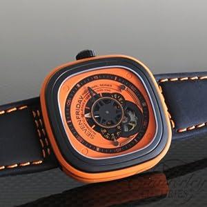 Affordable SevenFriday Orange P1 3 Industrial Essence