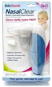 Amazon.com : Bébésounds Nasal Clear Battery Operated Nasal ...