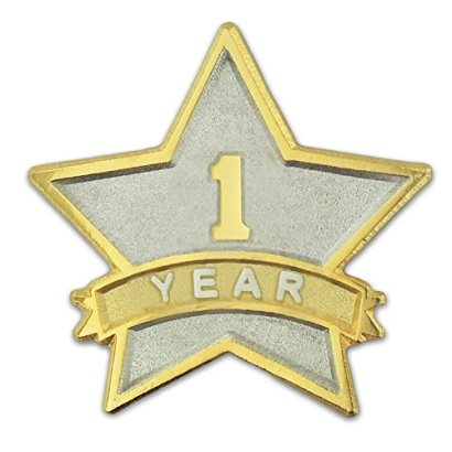 1-Year-Service-Award-Star-Recognition-Lapel-Pin