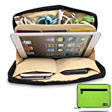 Damai Portable Universal Electronics Accessories Travel Organizer /Ipad Mini Case / Cable Organizer Bag / Makeup Bag (3-green)
