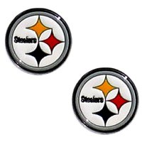 Steelers Earrings, Pittsburgh Steelers Earrings, Steelers