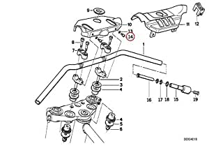 Amazon.com: BMW Genuine Motorcycle Front Cover Handlebar