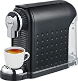 Espresso Machine - 20 Bonus Nespresso Compatible Capsules - By Mixpresso (Black)