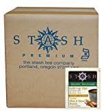 Stash Tea Organic Gold Cup Chai Herbal Tea with Turmeric, 100 Count
