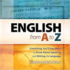 English from A-Z by C. Akinyi, from Amazon
