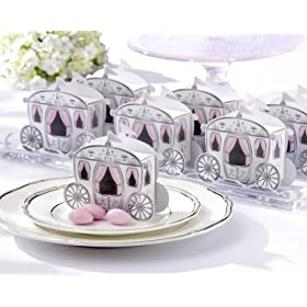 Enchanted Carriage Princess Favor Boxes (Set of 24)