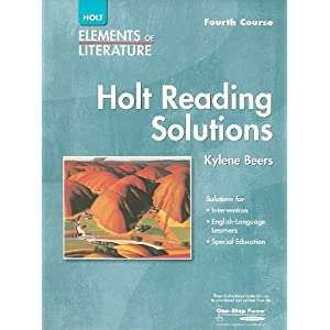 Torrent  Fileserve Holt Elements Of Literature Reading Solutions, Fourth Course (9780030739132