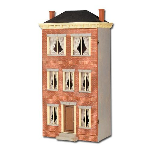 Dollhouse Miniature 333 Franklin Street Smooth MDF Front by RGT Review