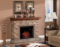 Sale!! Grand Canyon Stacked Stone Electric Fireplace ...