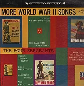 Various, The Four Sergeants  World War Ii Songs In Hifi