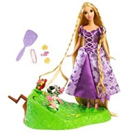 Amazon.com: Disney Tangled Featuring Rapunzel Braiding ...