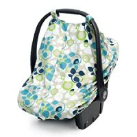 Amazon.com: JJ Cole Car Seat Canopy, Blue Vine ...