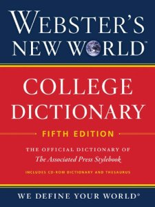 Webster's New World College Dictionary, Fifth Edition (with CD-ROM) by Editors of Webster's New World College Dictionaries| wearewordnerds.com