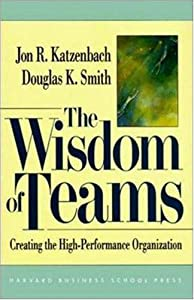 "Cover of ""The Wisdom of Teams: Creating t..."