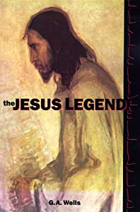 """Cover of """"The Jesus Legend"""""""