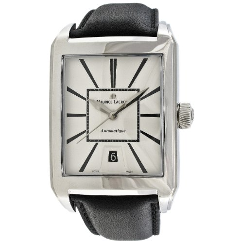 Maurice Lacroix Men's PT6117-SS001-130 Pontos Rectangulaire Watch