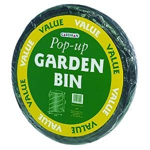 Gardman R619 24-Gallon 23-Inch x 18-Inch Value Pop-Up Garden Bin Spring Bucket