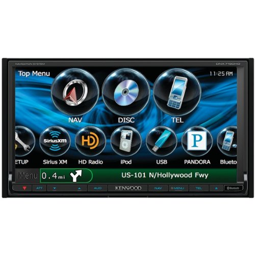 Kenwood DNX7190 / DNX-7190HD / DNX-7190HD 6.95 2-DIN Multimedia DVD Receiver with Navigation