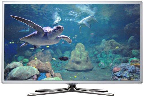 Samsung UE50ES6710SXZG 127 cm (50 Zoll) LED-Backlight-Fernseher, Energieeffizienzklasse A (Full HD, 400Hz, DVB-T/C/S2) weiß