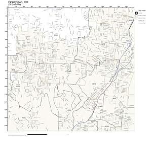 Amazon.com: ZIP Code Wall Map of Finneytown, OH ZIP Code
