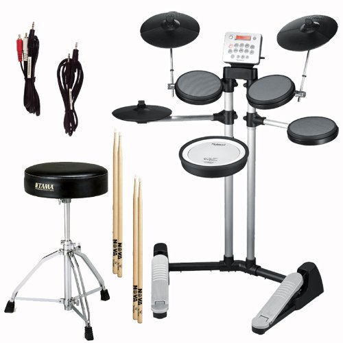 Roland HD-3 V-Drum Lite Electronic Drum Kit w Cables