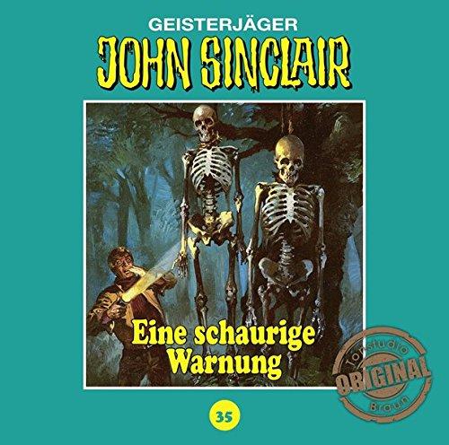 John Sinclair (35) Eine schaurige Warnung (Jason Dark) Tonstudio Braun / Lübbe Audio 2016