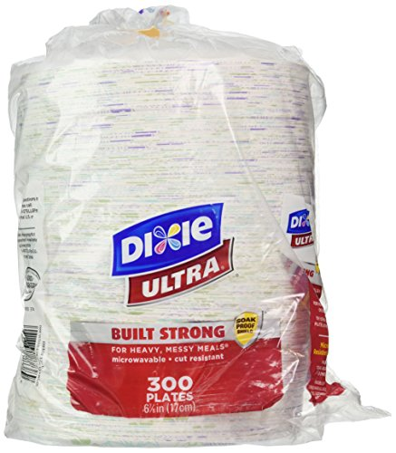 Dixie Ultra Paper Plate 678 Inch 300 Count Business