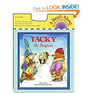 Tacky the Penguin (Book and CD)