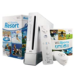 Product Image Nintendo Wii Console - White - Includes Sports Resort