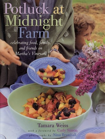 "Cover of ""Potluck at Midnight Farm: Celeb..."